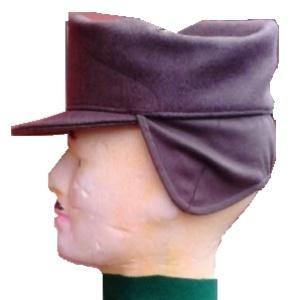 cappello alpino norvegese con paraorecchie