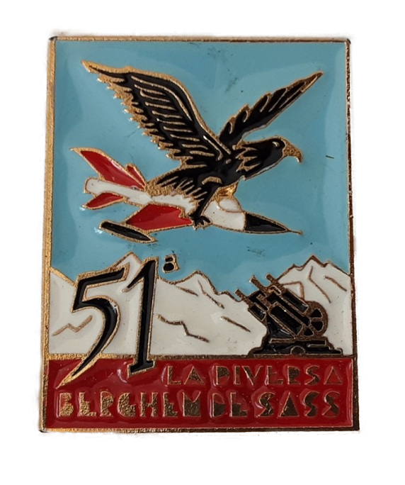 51a batteria contraerea leggera gruppo Bergamo
