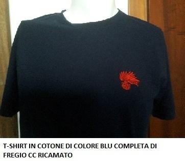 maglietta carabinieri