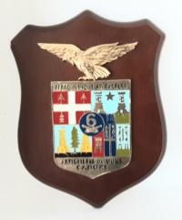 araldico sesto reggimento artiglieria da montagna (crest)