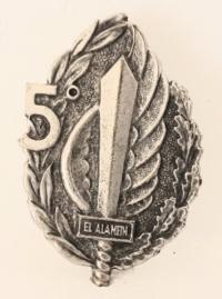 5° battaglione paracadutisti el alamein