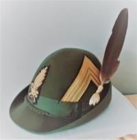 cappello ufficiale tenente colonnello G.d.F
