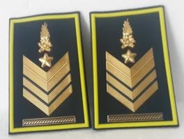 set gradi brigadiere capo a qualifica speciale G.d.F