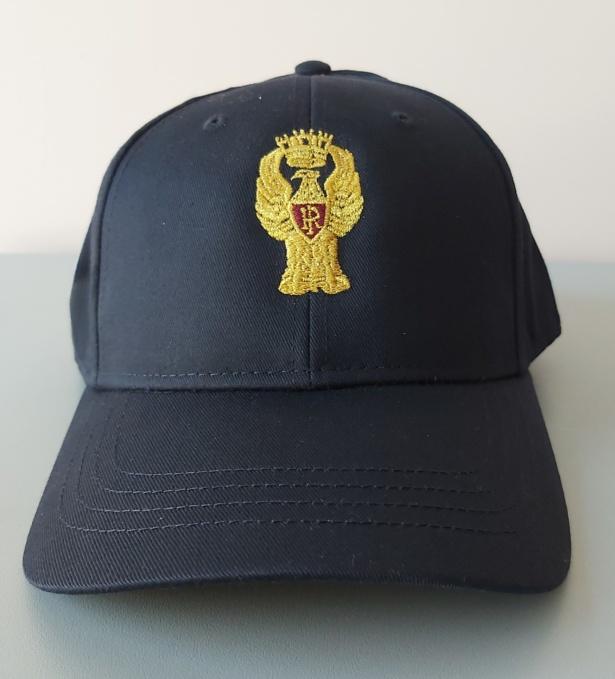 berretto con logo polizia di stato