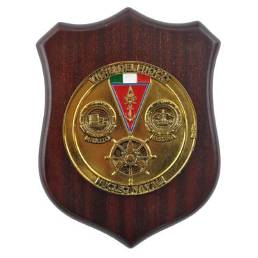 Vigili del fuoco servizio navale crest